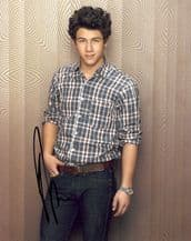 Nick Jonas Autograph Signed Photo - Jonas Brothers