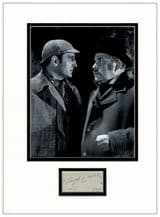 Nigel Bruce Autograph Signed Display - Dr Watson