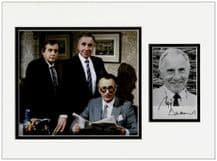 Nigel Hawthorne Autograph Signed Display - Yes Minister
