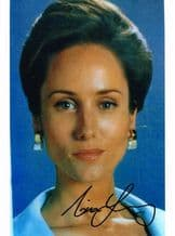 Nina Young Autograph Signed Photo