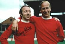 Nobby Stiles Autograph Signed Photo - Manchester United