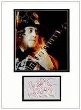 Noddy Holder Autograph Signed Display - Slade