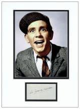 Norman Wisdom Autograph Signed Photo