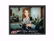Olga Bisera Autograph Signed Photo