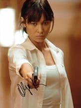 Olga Kurylenko Autograph Photo - James Bond