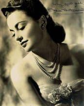 Olivia de Havilland Autograph Signed Photo