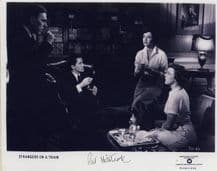 Patricia Hitchcock Autograph Signed Photo