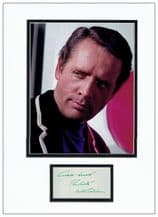Patrick McGoohan Autograph Signed Display - The Prisoner
