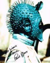 Paul Blake Autograph Signed Photo