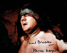 Paul Brooke Autograph Signed Photo - Star Wars