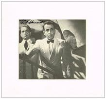Paul Henreid Autograph Signed Photo - Casablanca