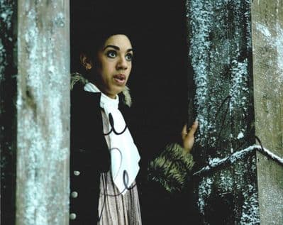 Pearl Mackie Signed Photo - Doctor Who