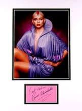 Persis Khambatta Autograph Signed - Star Trek