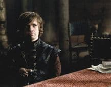 Peter Dinklage Autograph Photo - Tyrion Lannister