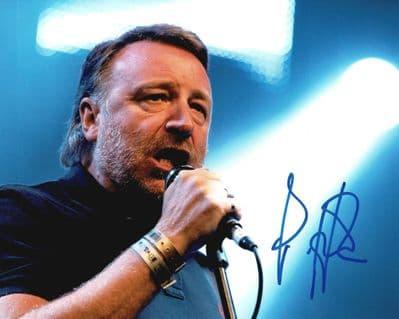 Peter Hook Autograph Signed Photo - Joy Division