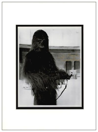Peter Mayhew Signed Photo - Chewbacca
