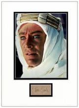 Peter O'Toole Autograph Signed - Lawrence Of Arabia