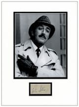 Peter Sellers Autograph Display - Pink Panther
