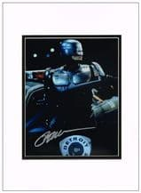Peter Weller Autograph Signed Photo - RoboCop