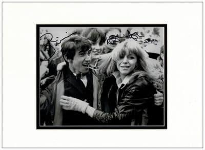 Phil Daniels & Leslie Ash Signed Photo - Quadrophenia