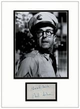 Phil Silvers Autograph Signed - Sergeant Bilko