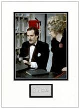 Prunella Scales Autograph Signed Display - Fawlty Towers