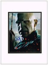 Ralph Fiennes Autograph Signed Photo - Lord Voldemort