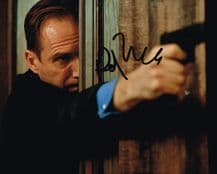 Ralph Fiennes Autograph Signed Photo - Skyfall