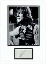 Ralph McTell Autograph Signed Display