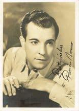 Ramon Novarro Autograph Signed Photo