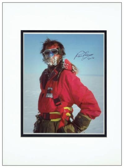 Ranulph Fiennes Autograph Signed Photo For Sale