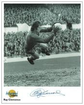 Ray Clemence Autograph Signed Photo