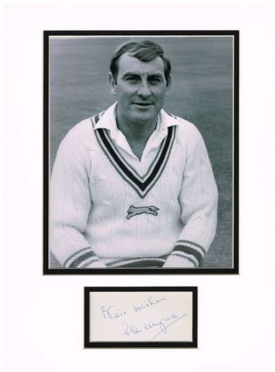 Ray Illingworth Autograph Signed Display