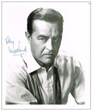 Ray Milland Autograph Signed Photo