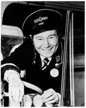 Reg Varney Autograph Signed Photo - On The Buses