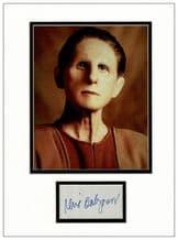 Rene Auberjonois Autograph Signed Display - Deep Space Nine