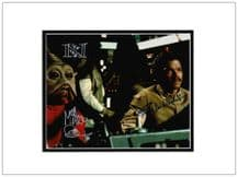 Return of The Jedi Signed Photo - Williams and Quinn