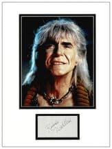 Ricardo Montalban Autograph Signed Display - The Wrath of Khan