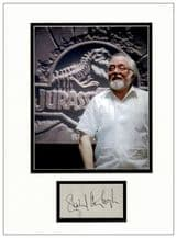 Richard Attenborough Autograph - Jurassic Park