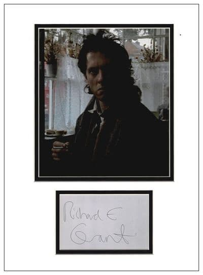 Richard E Grant Autograph Signed Display - Withnail and I