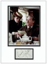 Richard Griffiths Autograph Signed Display - Vernon Dursley