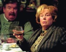 Richard Griffiths Autograph Signed Photo - Harry Potter
