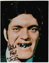 Richard Kiel Autograph Photo James Bond Jaws