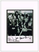 Richard O'Brien & Patricia Quinn Autograph Photo - Rocky Horror