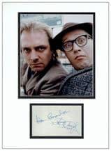 Rik Mayall & Adrian Edmondson Autograph Signed Display - Bottom
