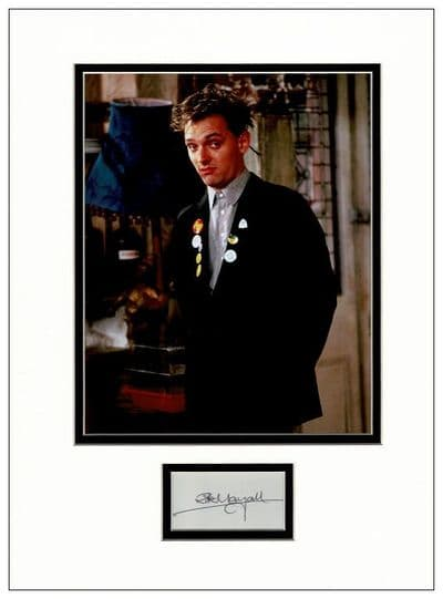 Rik Mayall Autograph Display - The Young Ones