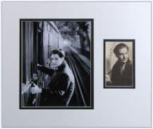 Robert Donat Autograph Signed Photo Display