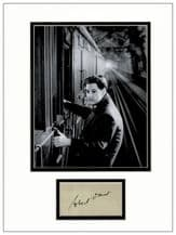 Robert Donat Autograph Signed - The 39 Steps