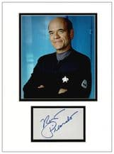 Robert Picardo Autograph Signed Display - Voyager