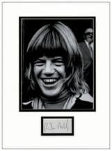 Robin Askwith Autograph Signed Display